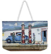 Mural Art At Consul Weekender Tote Bag