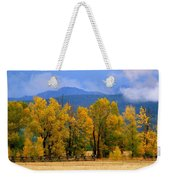 Murmur Of The Cottonwoods Weekender Tote Bag