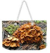 Mushroom Flower Weekender Tote Bag