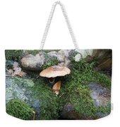 Mushroom In Moss Weekender Tote Bag