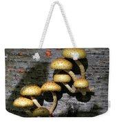 Mushrooms In Relief  Weekender Tote Bag