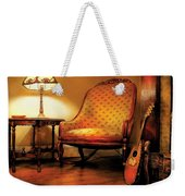Music - String - The Chair And The Lute Weekender Tote Bag