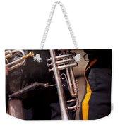 Music - Trumpet - Police Marching Band  Weekender Tote Bag by Mike Savad