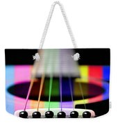 Music Is A Rainbow To The Heart Weekender Tote Bag by Andee Design