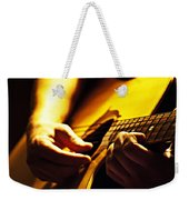 Music Is Passion Weekender Tote Bag by Christopher Gaston