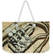 Music Of The Past Weekender Tote Bag by Jutta Maria Pusl