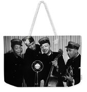 Music: The Ink Spots Weekender Tote Bag by Granger