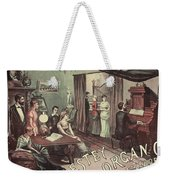 Musical Evening Ad, C1890 Weekender Tote Bag