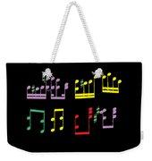 Musical Notes Weekender Tote Bag