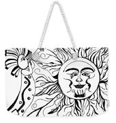 Musical Sunrise Weekender Tote Bag