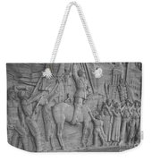 Mussolini, Haut-relief Weekender Tote Bag by Photo Researchers