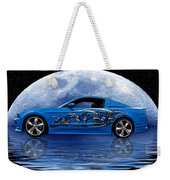 Mustang Reflection Weekender Tote Bag