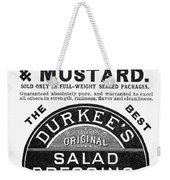 Mustard Ad, 1889 Weekender Tote Bag