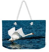 Mute Swan Gaining Momentum Weekender Tote Bag