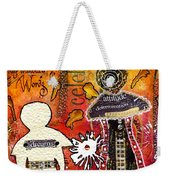 My Angelic Sistah And I Are Free To Dream Weekender Tote Bag