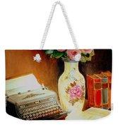 My Classic Royal Typewriter Memories Of Hemingway   Weekender Tote Bag