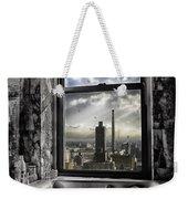My Favorite Channel Is Manhattan View Weekender Tote Bag