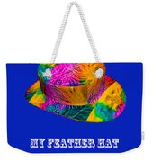 My Feather Hat Weekender Tote Bag