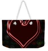 My Heart Is Yours Valentine Card Weekender Tote Bag