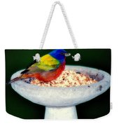 My Painted Bunting Weekender Tote Bag