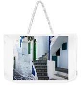 Mykonos Stairs Weekender Tote Bag