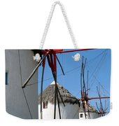 Mykonos Windmills Weekender Tote Bag
