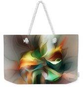 Mysterious Bloom Weekender Tote Bag