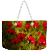 Mysterious Red Zone Weekender Tote Bag