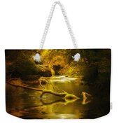 Mystery In Forest Weekender Tote Bag by Svetlana Sewell