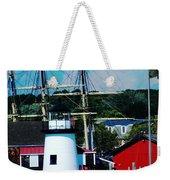 Mystic Seaport Ct Weekender Tote Bag