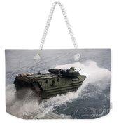 N Amphibious Assault Vehicle Departs Weekender Tote Bag