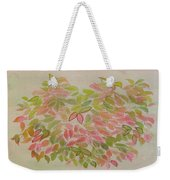 Nadina Leaves Weekender Tote Bag
