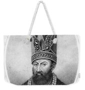 Nadir Shah (1688-1747) Weekender Tote Bag