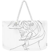 Naked-female-art-23 Weekender Tote Bag