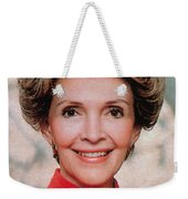 Nancy Reagan, 40th First Lady Weekender Tote Bag by Photo Researchers