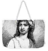 Nancy Storace (1765-1817) Weekender Tote Bag