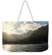 Napali Coast Sunrise Weekender Tote Bag