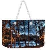 Napanee River At Dawn Weekender Tote Bag