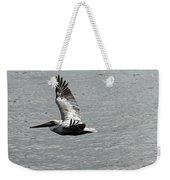 Naples Florida Pelican On The Prowl Weekender Tote Bag