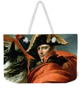 Napoleon Crossing The Alps On 20th May 1800 Weekender Tote Bag