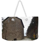 Narrow Dirt Road Weekender Tote Bag