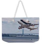 Nasa Enterprise Space Shuttle Weekender Tote Bag