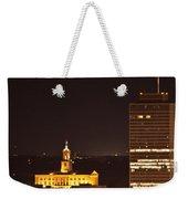 Nashville Cityscape 5 Weekender Tote Bag