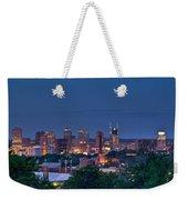 Nashville Cityscape 7 Weekender Tote Bag
