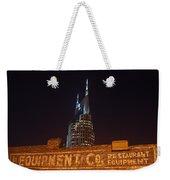 Nashville Downtown Night Scene Weekender Tote Bag