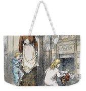 Nast: Santa Claus Weekender Tote Bag by Granger