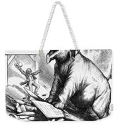 Nast: Tweed Cartoon, 1875 Weekender Tote Bag