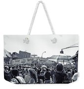 Nathan's Crowd In Coney Island 1 Weekender Tote Bag