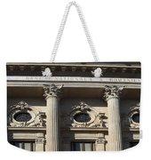 National Bank Of Romania Weekender Tote Bag
