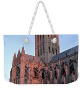 National Cathedral At Sunset Weekender Tote Bag